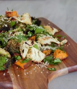 Roast Cauliflower & Broccoli Salad