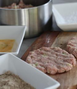Paleo Pork, Apple & Fennel Schnitzel