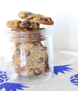 Super-Simple Paleo Choc Chip Cookies