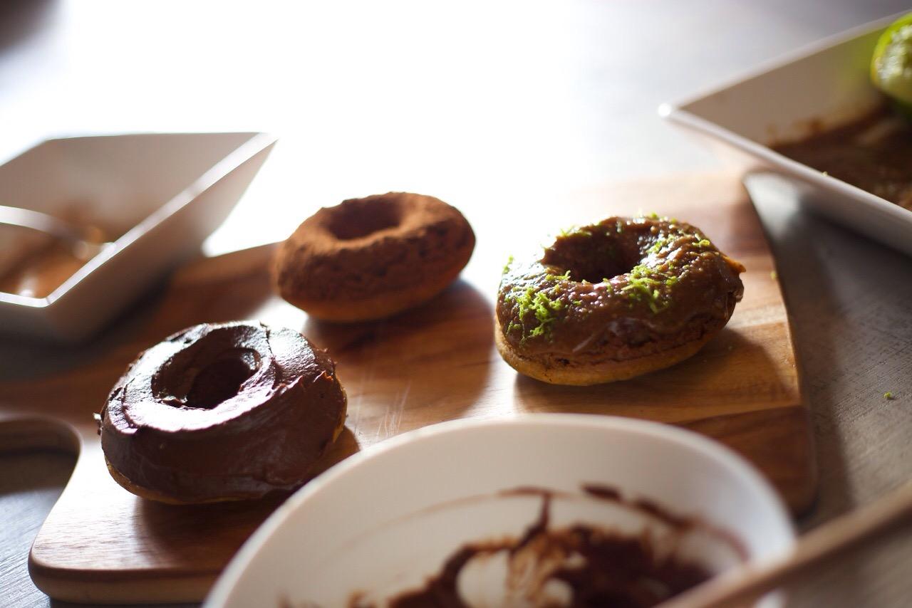 Paleo Vanilla Bean Donuts