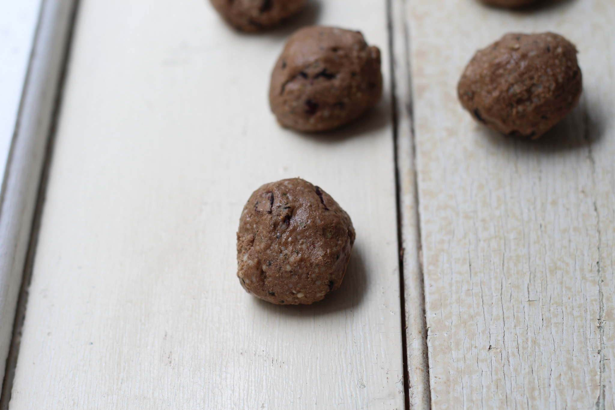 Choc Cranberry Protein Bombs (vegan, primal, clean eating, gluten free, dairy free)