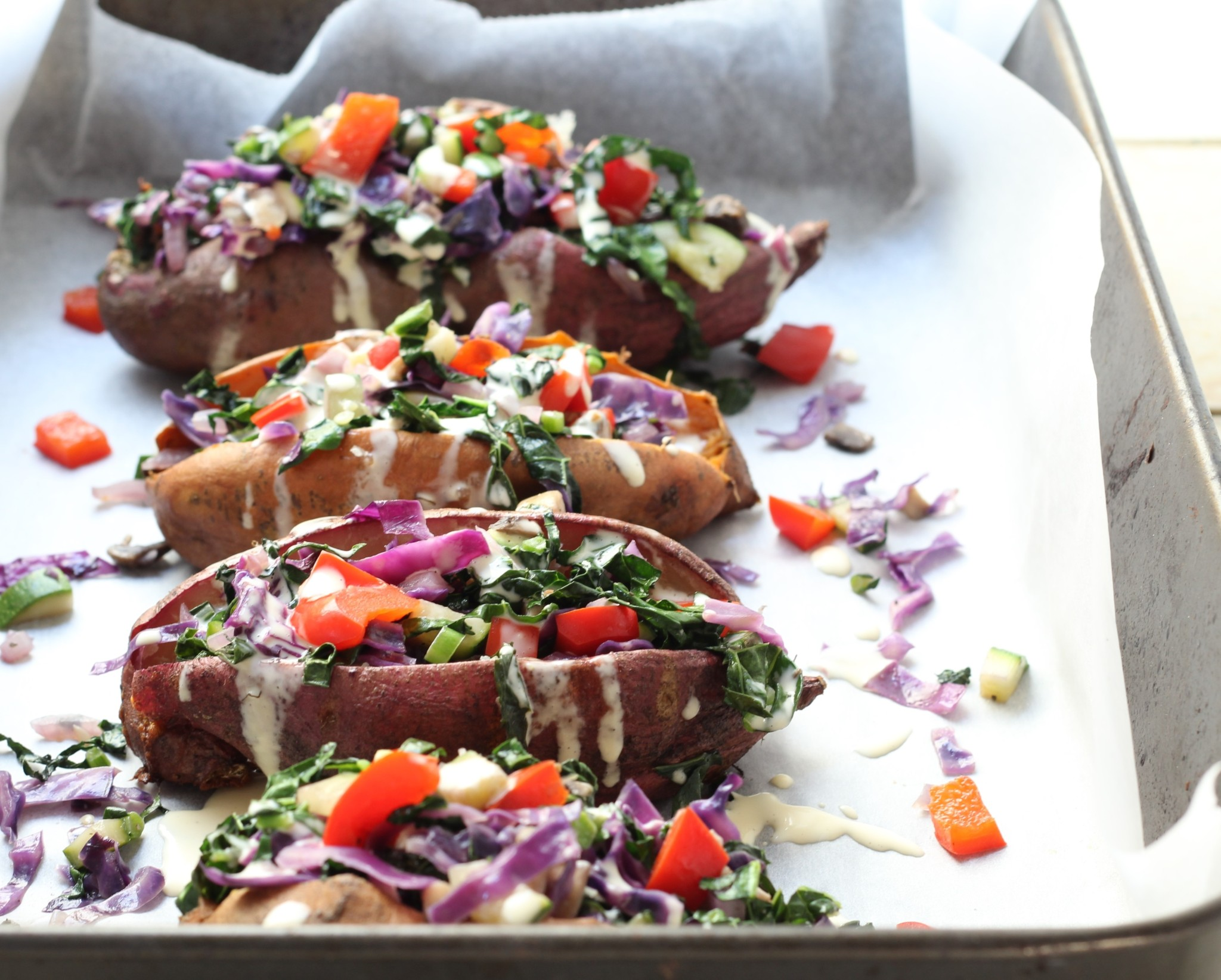 Stuffed Potatoes (paleo. vegan. gluten free. dairy free)