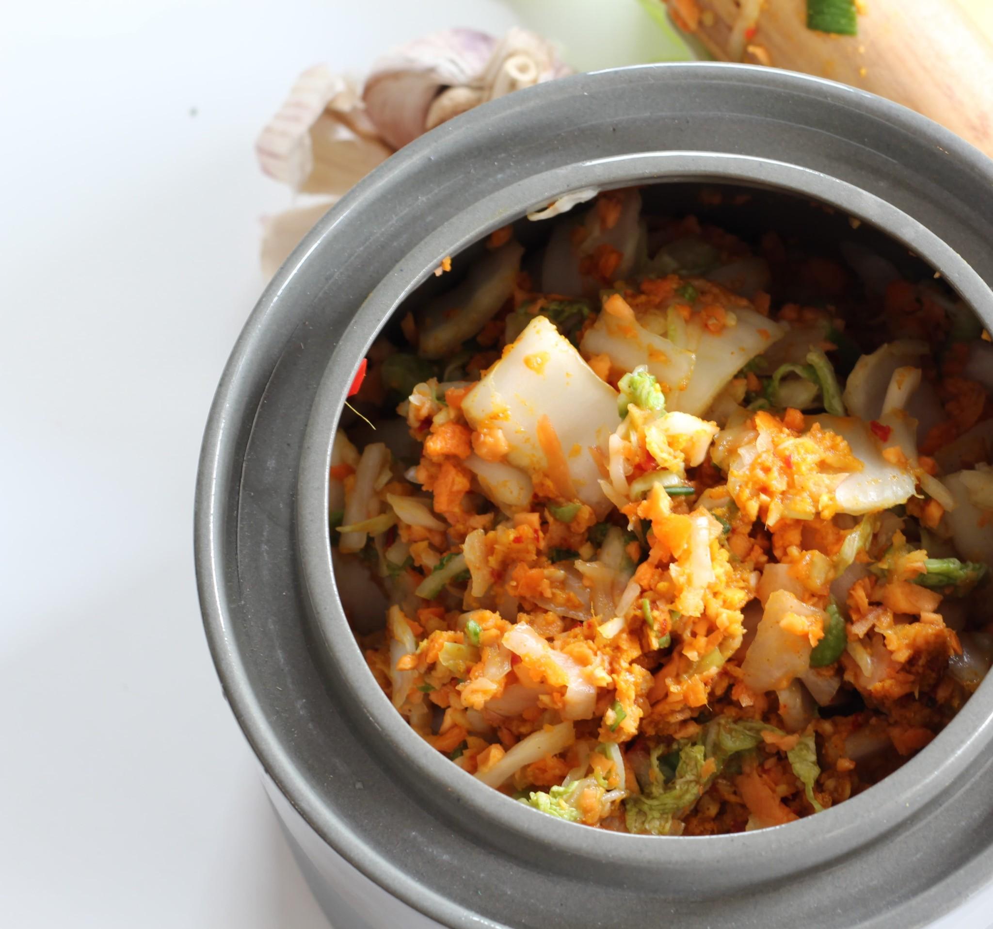 Kimchi (fermented. vegan. paleo)