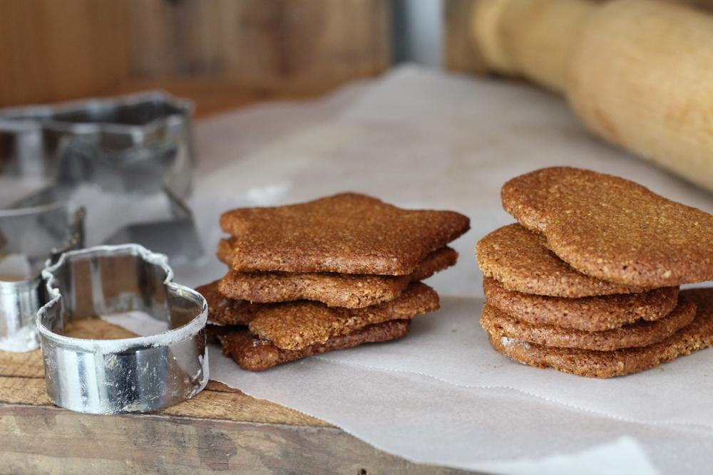 Christmas Gingerbread (paleo. vegan)