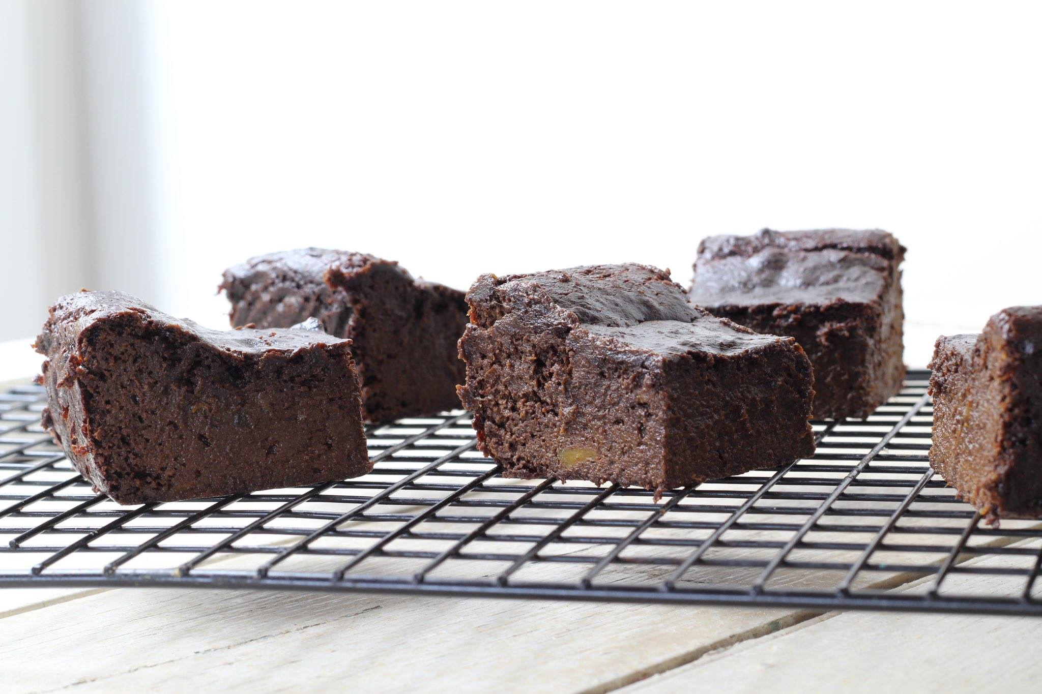 Protein Choc Brownies (vegan. paleo)