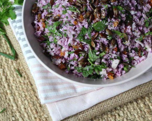 Cauliflower Pilaf (vegan. paleo. keto)