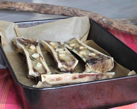Roasted Bone Marrow (paleo. keto. gut health)