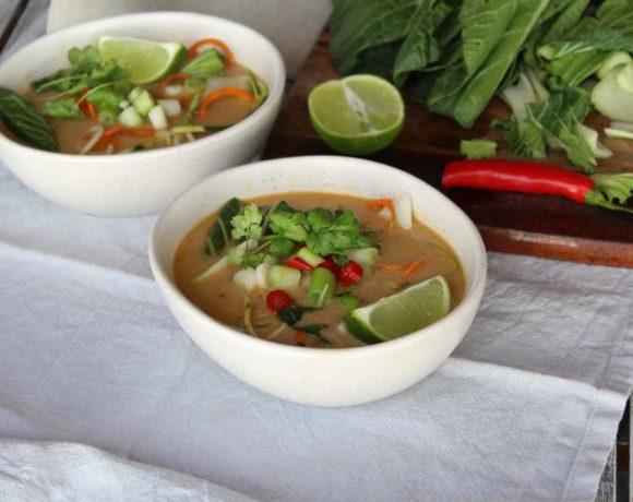 Tom Kha Soup (paleo. keto)