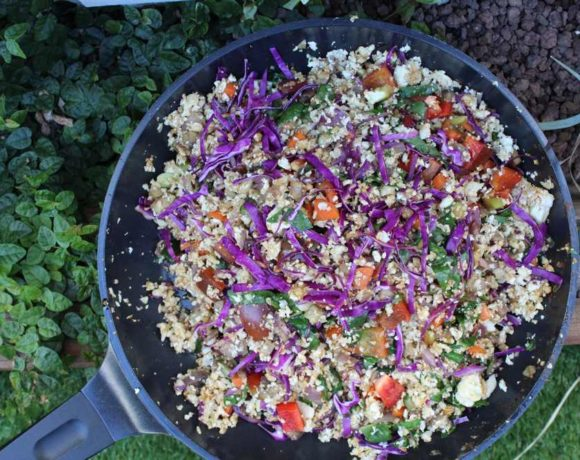 Paleo Fried Rice (keto. vegan. low carb)