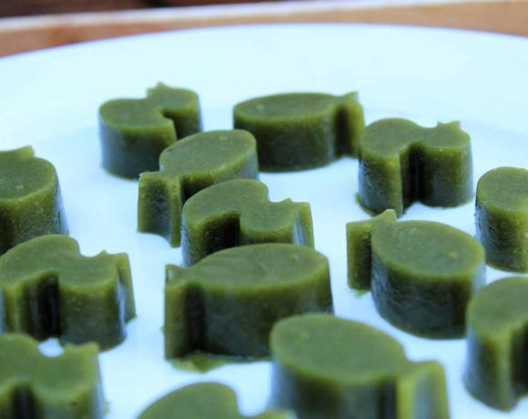 Super Green Gummies (paleo. gut health)