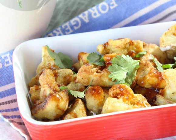 Popcorn Cauliflower (paleo. vegan)