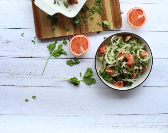 Fennel & Grapefruit Salad (paleo. low carb)